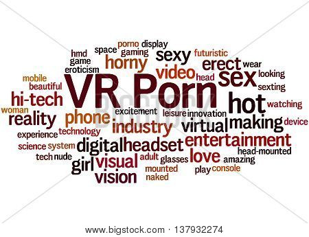 Vr Porn, Word Cloud Concept 8