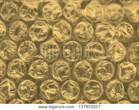 Bubblewrap Background Sepia
