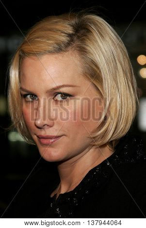 Alice Evans at the Los Angeles premiere of '300' held at the Grauman's Chinese in Hollywood, USA on March 5, 2007.