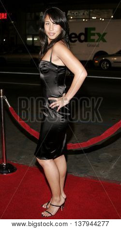 Mercedes Leggett at the Los Angeles premiere of '300' held at the Grauman's Chinese in Hollywood, USA on March 5, 2007.