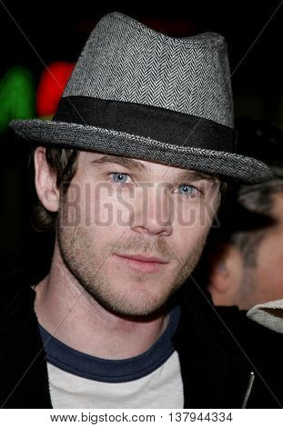 Shawn Ashmore at the Los Angeles premiere of '300' held at the Grauman's Chinese in Hollywood, USA on March 5, 2007.