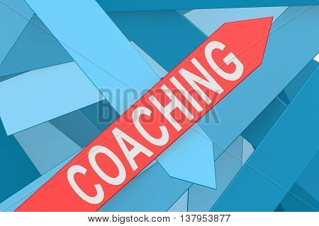 Coaching Arrow Pointing Upward