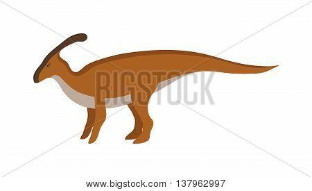 Dinosaur cartoon vector illustration. Cartoon dinosaurs cute monster funny animal and prehistoric character cartoon dinosaur. Cartoon comic tyrannosaurus fantasy dinosaur