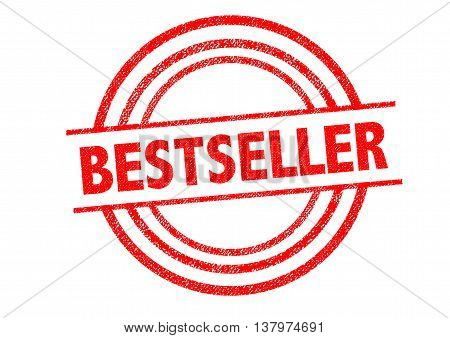 BESTSELLER Rubber Stamp over a white background.