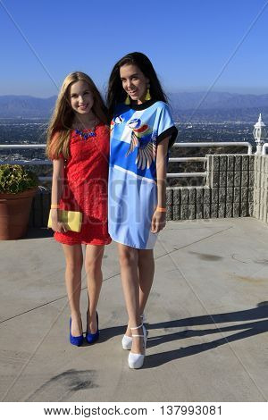 LOS ANGELES - JUL 7:  Brady Reiter, Lilimar at the Pretty Little Thing Launch at the Private Residence on July 7, 2016 in Los Angeles, CA