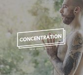 Concentration Concentrate Focus Attention Interest Concept poster