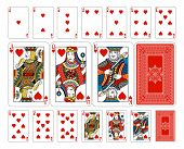 Original playing card deck design. The deck features custom extremely detailed court cards with the appropriate suit symbol worked into the garb of the Jack, Queen and King characters in multiple ways. The joker and ace of spades playing cards feature new poster