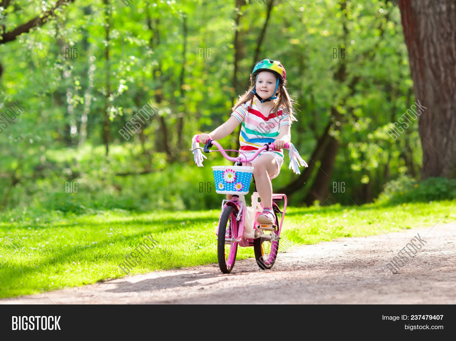 Child On Bike  Kids Image & Photo (Free Trial) | Bigstock