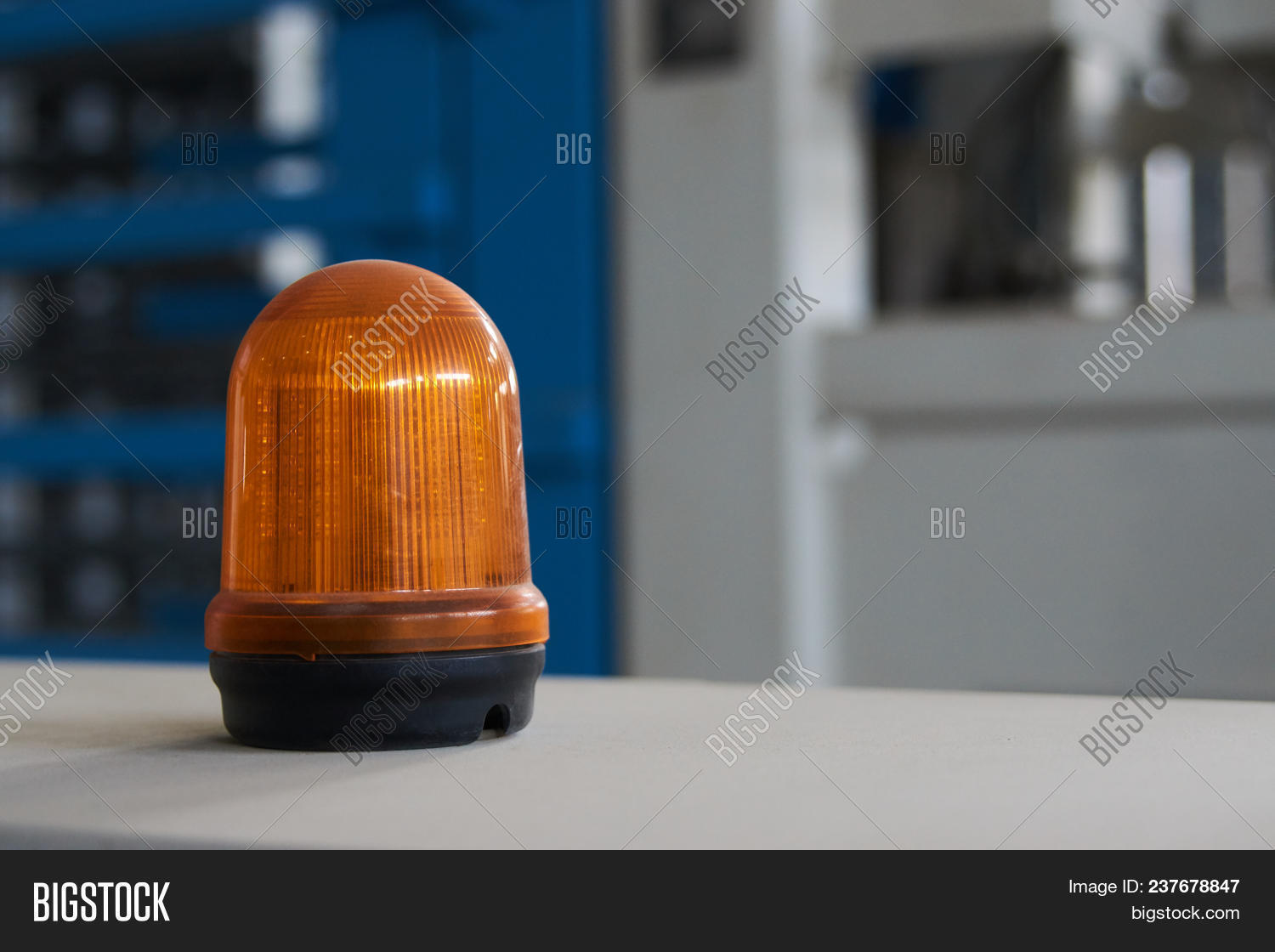 Warning Light Alarm Image Photo Free Trial Bigstock Emergency And For Machine Working Lighting In The Factory Close Up