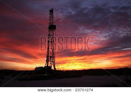 Horizontal Drilling Rig Sunrise