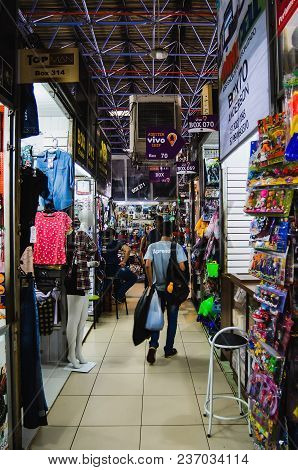 Indoors Of The Local Commerce Called Camelodromo De Campo Grande.