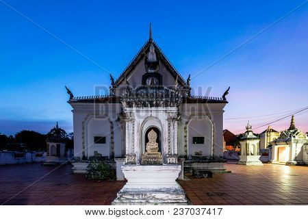 Songkhla, Thailand Mar. 1, 2018 :  Wat Ku Tao  (ku Tao Temple) Awarded For Asia-pacific Cultural Her