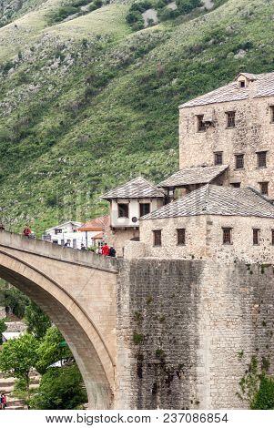 Old Bridge. Travel And Tourisam Concept.