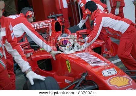 Training 2007 in Cheste Valencia Formula One