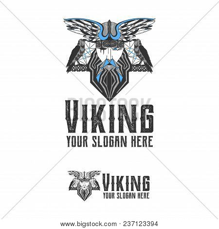 Original Logo With The Scandinavian Viking