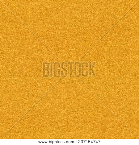 Grainy Paper Light Orange Background. Seamless Square Texture, Tile Ready. High Quality Texture In E