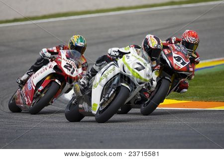 SBK Campeonato del Mundo de Superbikes - Spanish Round - Valencia 2008 en el Circuito Ricardo Tormo de Cheste - Carlos Checa, Haga, Troy Bayliss