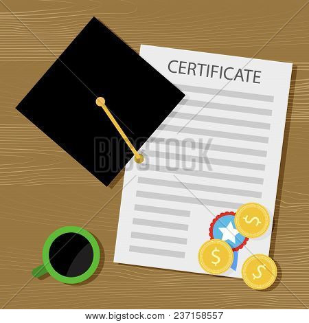Financing Training And Education For A Diploma. Graduation Finance Education In College, Study Unive