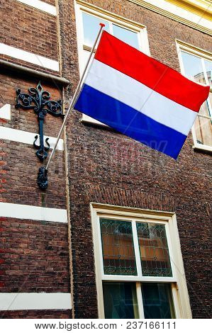 Crown Sky Holiday House Wall Flag Netherlands Building King's Day Holland Dutch Celebration April