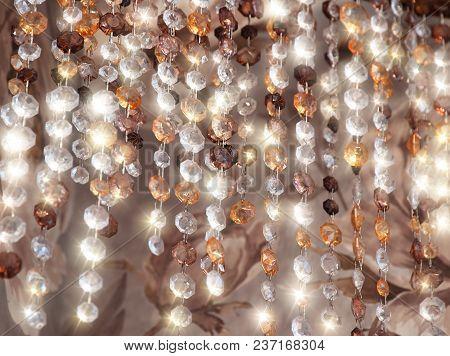 Vertical Diamonds Necklace Glitter Jewellery Background Hd