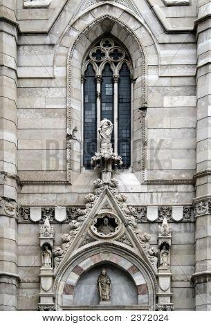 The Major Church Of Naples, Called Duomo- External Detail