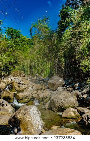 "Color image of ""Common Falls"" located in Solano, Nueva Vizcaya, Philippines poster"