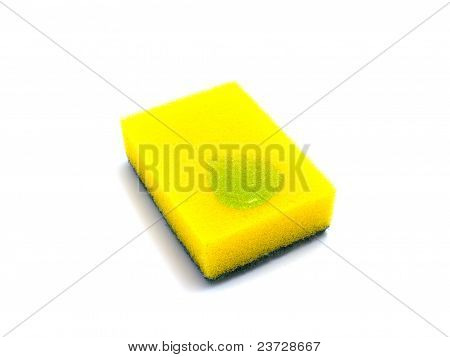 Sponge With Cleaning Gel
