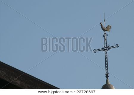 Gallic Cock And Cross