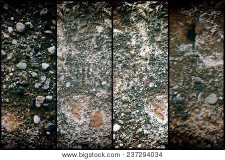 Old Like Mars Texture, Stone Wall Background Or Rock Surface - Good For Web Site Or Mobile Devices.