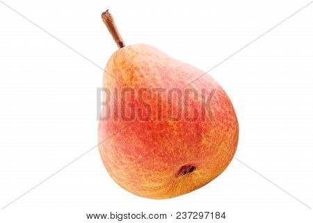 Isolated Fruits. Sweet Pears Fruits Isolated On White Background With Clipping Path As Package Desig