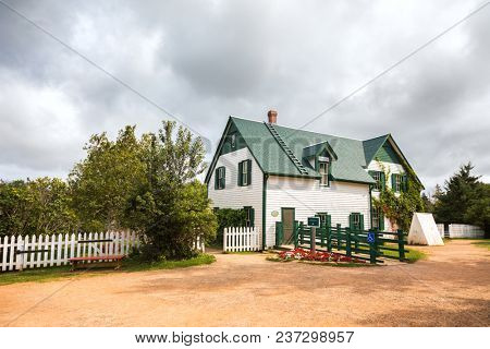 Prince Edward Island, Canada - 11 Sept 2017: This house is the setting for the famous novel Anne of Green Gables, by L.M Montgomery, and is the early home of the main protagonist, Anne Shirley.