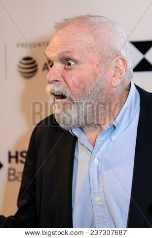NEW YORK, NY - APRIL 21: Brian Dennehy attend 'The Seagull' premiere during the 2018 Tribeca Film Festival at BMCC Tribeca PAC on April 21, 2018 in New York City.