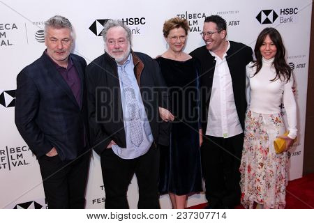Cast and crew of 'The Seagull' screening during 2018 Tribeca Film Festival at SVA Theatre on April 21, 2018 in New York City.