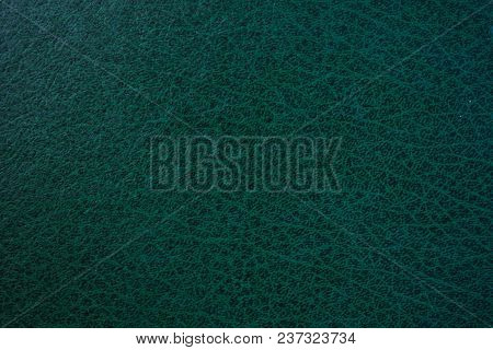 A Green Leather Using For A Background