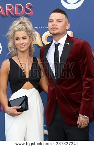 LAS VEGAS - APR 15:  Guest, Kane Brown at the Academy of Country Music Awards 2018 at MGM Grand Garden Arena on April 15, 2018 in Las Vegas, NV