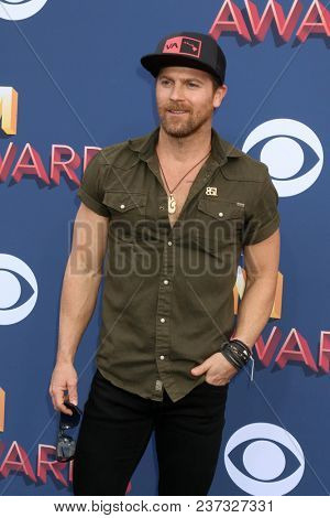 LAS VEGAS - APR 15:  Kip Moore at the Academy of Country Music Awards 2018 at MGM Grand Garden Arena on April 15, 2018 in Las Vegas, NV