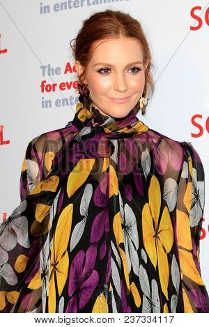 LOS ANGELES - APR 19:  Darby Stanchfield at the The Actors Fund's