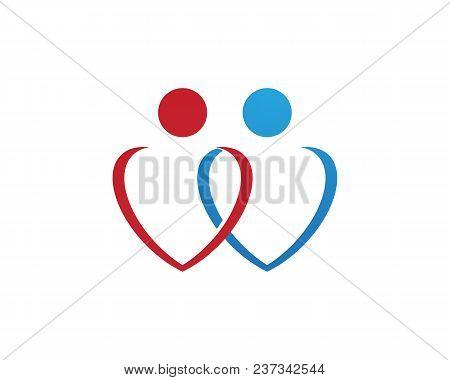 Human Character Logo Sign,health Care Logo. Nature Logo Sign. Green Life Logo Sign,