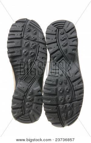 Soles Of Men's Shoes