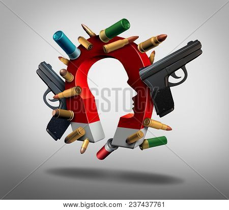 Attraction To Guns And Social Or Society Security Issues Pertaining To The Psychology Of People And
