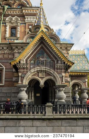 Church Of The Savior On The Spilt Blood, Saint Petersburg, Russia
