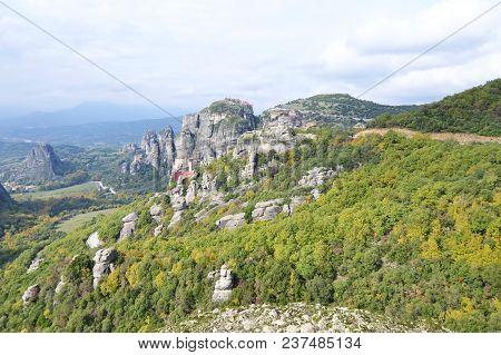 Landscape Of Meteora Kalabaka Greece - Orthodox Religious Places