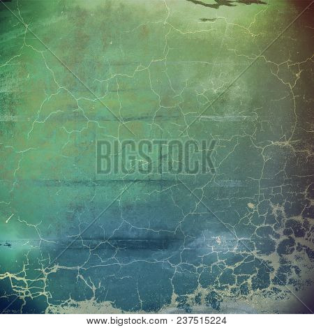 Creative vintage grunge texture or ragged old background for art projects. With different color patterns