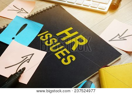 Book About Hr Issues On A Desk.