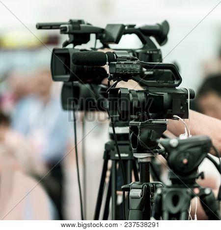 Camera Recording Event, Close Up Image, Square