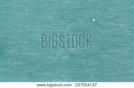 Old Dirty Cardboard Surface In Cyan Tone. Abstract Background And Texture For Design And Ideas.