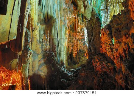 Gilindire Cave Also Known As Aynaligol Cave, Is A Cave In Aydincik, Mersin, Southern Turkey. It Was