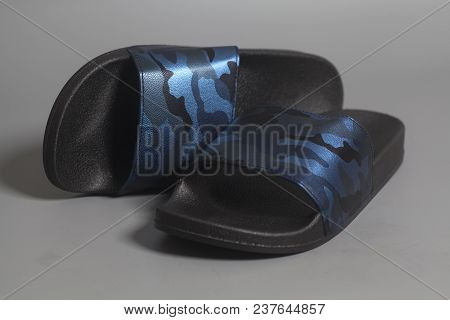 Men's Slippers Camouflage Military