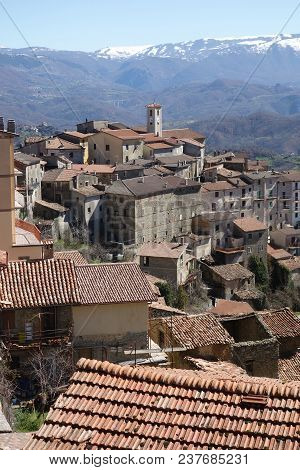 Marcetelli Medieval Town With Its 92 Residents, Turned Out To Be The Smallest Municipality Per Numbe