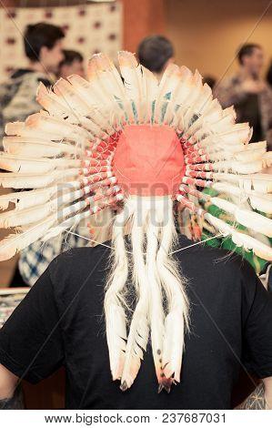 Like A Native American On A Festival